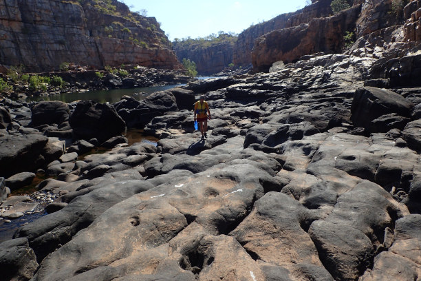 "Langzeiturlaub Nepal, Nepal, 2 Tages Adventure Tour ""Carry your Canoe"" in der Katherine Gorge am En"