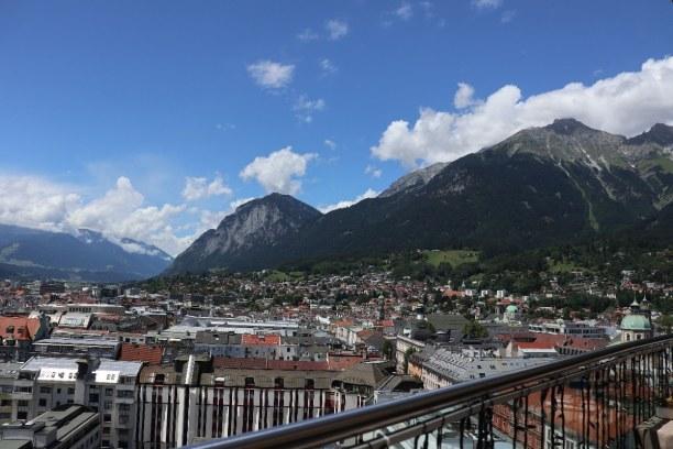 Kurztrip Innsbruck (Stadt), Nordtirol, Österreich, Anreise mit dem eigenen PKW und parken in der Parkgarage beim aDLERs.