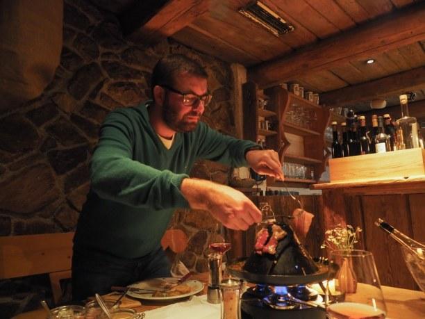 Kurztrip Kitzbühel (Stadt), Nordtirol, Österreich, Kulinarisch mal was neues entdecken: Hut essen ist in Tirol und Salzbu