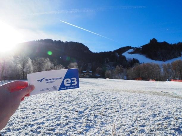 Kurzurlaub Kitzbühel (Stadt), Nordtirol, Österreich, Mein Flugschein für einmal die Streif runter!