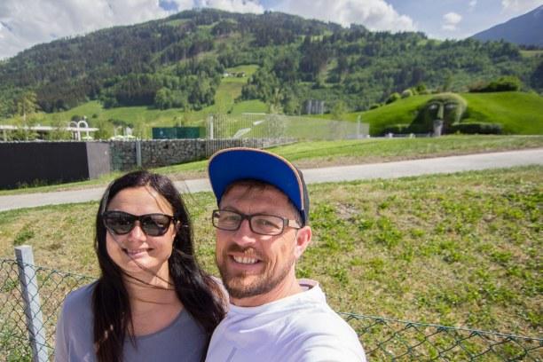 Kurztrip Natters (Stadt), Nordtirol, Österreich, In Wattens sind wir bei den Swarovski Kristallwelten stehen geblieben.