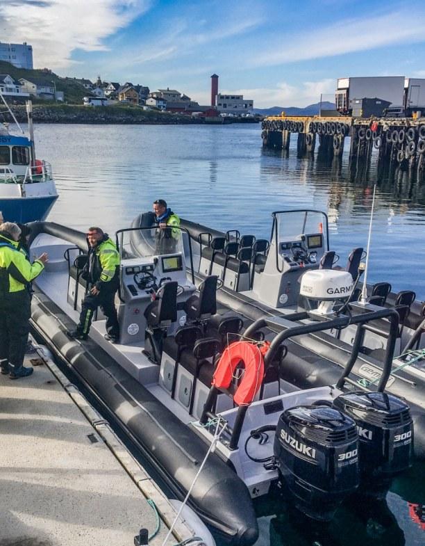 1 Woche Nordnorwegen, Norwegen, Mit dem RIB-Boot auf Königskrabbensafari