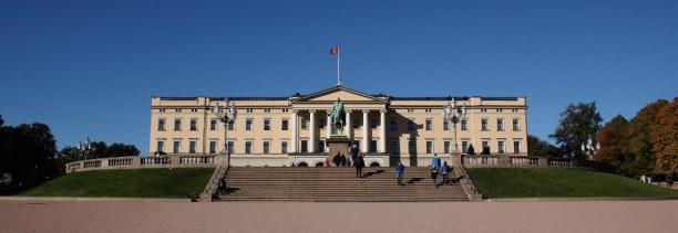 Kurzurlaub Oslo & Umgebung, Norwegen, Das Schloss Oslo ist die Residenz des Königs und ein Ort der staatlic