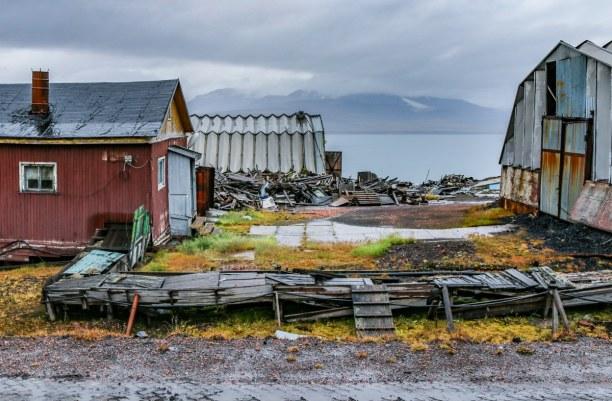 Langzeiturlaub Spitzbergen, Norwegen, Barentsburg ist wahrlich keine schöne Stadt. Aber unfassbar interessa