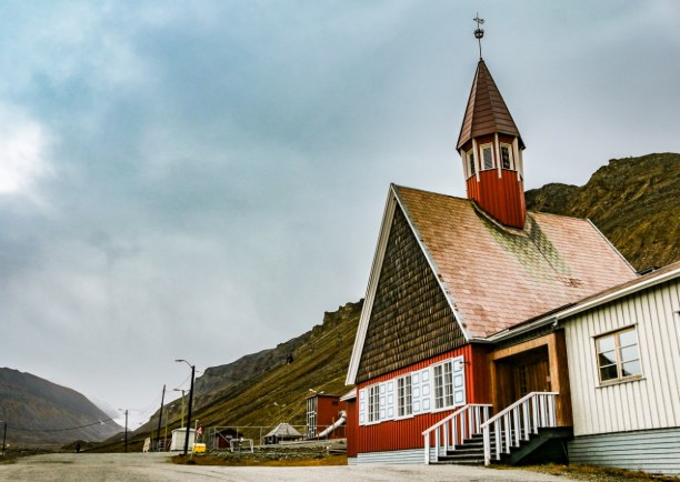Langzeiturlaub Spitzbergen, Norwegen, Die nördlichste Kirche der Welt!