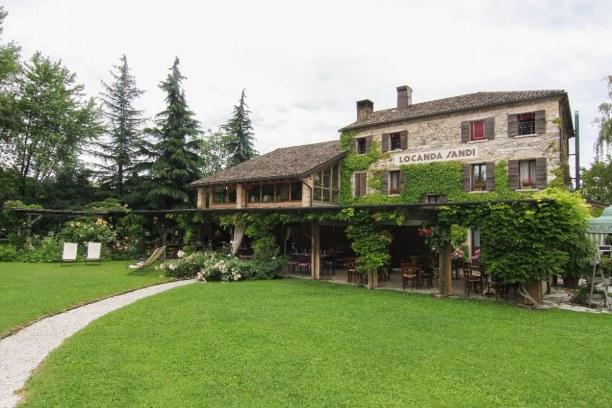 Bardolino (Stadt), Oberitalienische Seen & Gardasee, Italien, Die Locanda Sandi gehört zum Weingut Villa Sandi und befindet sich in