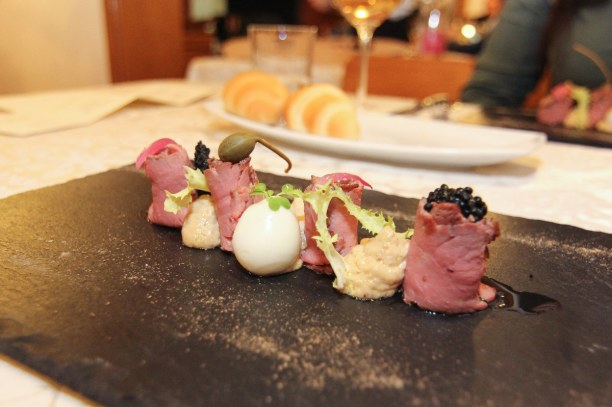 Kurztrip Bardolino (Stadt), Oberitalienische Seen & Gardasee, Italien, Wir haben uns beim Gourmetdinner gut gehen lassen!
