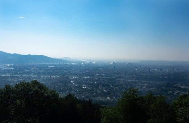 Kurztrip Linz (Stadt), Oberösterreich, Österreich, Bester Ausblick über Linz
