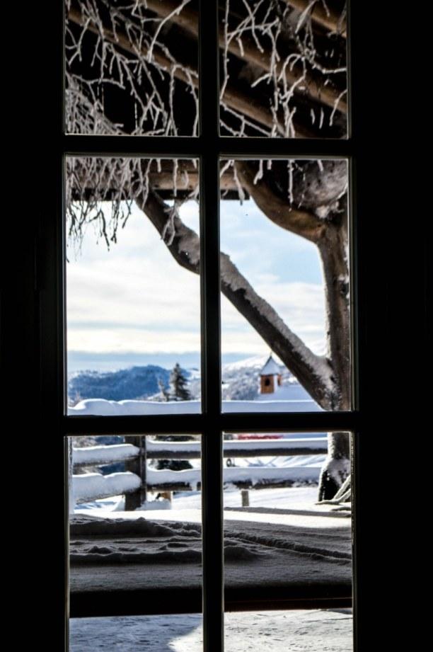 Kurztrip Kärnten, Österreich, Angekommen an der Gamskogelhütte. Hier gibt es übrigens auch einen R