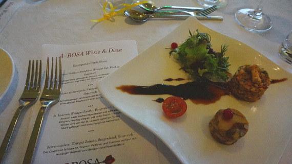 Langzeiturlaub Niederösterreich, Österreich, Das A-ROSA Wine & Dine.