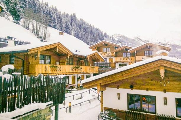"""Kurztrip Nordtirol, Österreich, Am Nachmittag sind wir im urgemütlichen und charmanten Chaletdorf """"An"""