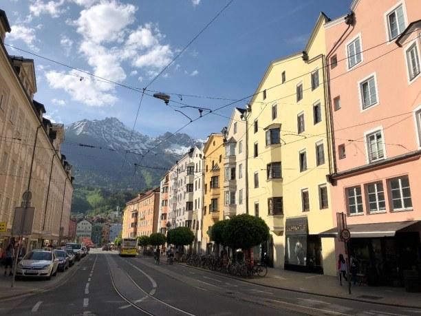 Kurzurlaub Nordtirol, Österreich, Ein kurzer Stopp in Innsbruck muss immer sein - um Freunde zu treffen