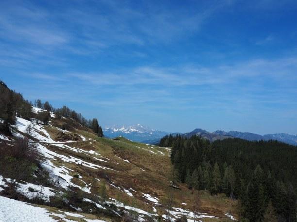 Kurzurlaub Nordtirol, Österreich, Unsere Route führte uns von Hochfilzen zu den Griessener Almen in Ric