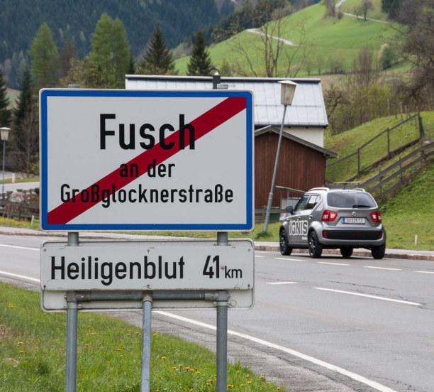 Kurztrip Salzburger Land, Österreich, Ziemlich feucht beginnt unsere Reise von Salzburg nach Kärnten über