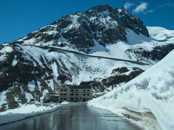 Kurzurlaub Salzburger Land, Österreich, Vom Glocknerhaus ist es dann nicht mehr weit. Hier am Südhang schmilt