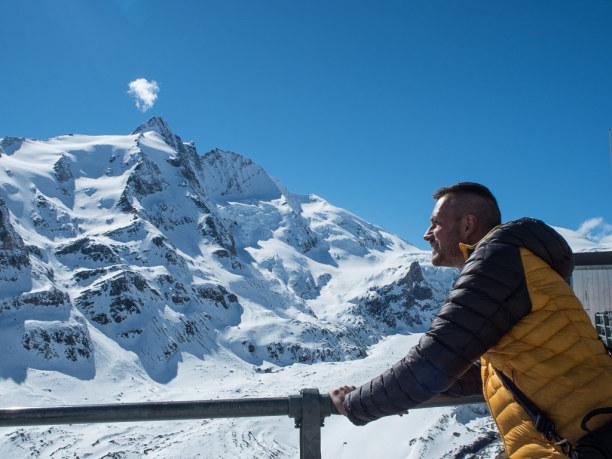 Kurztrip Salzburger Land, Österreich, Und dann ist es endlich soweit: Ich stehe vor dem Großglockner. Dem h