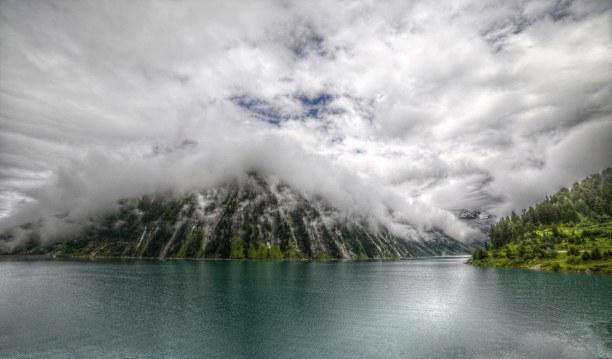 10 Tage Tirol, Österreich, Schlegeis Stausee 1782m