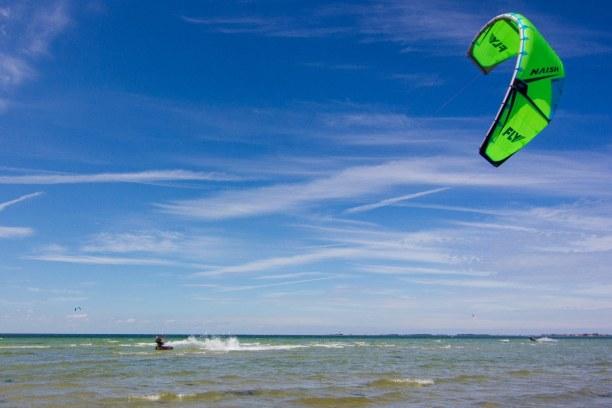 Kurztrip Warnemünde (Stadt), Ostseeküste, Deutschland, Unser erster Ausflug auf Fehmarn hat uns zum Kitespot Hünengrab gefü