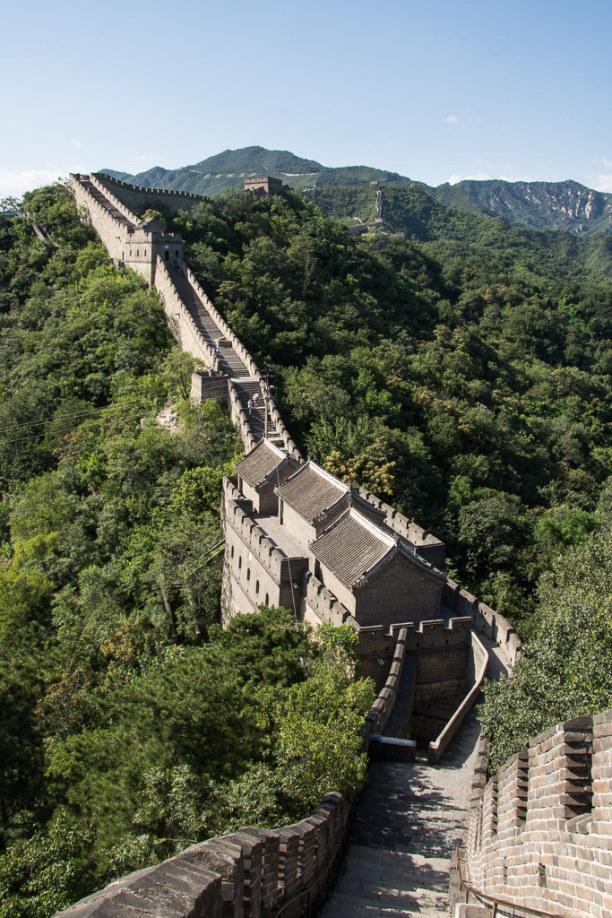 1 Woche Peking (Stadt), Peking und Umgebung, China, Es gibt verschiedene Orte wo Du einen Spaziergang auf der Mauer untern