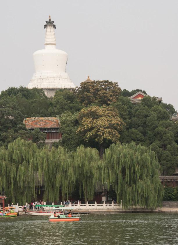 1 Woche Peking (Stadt), Peking und Umgebung, China, An heißen Tagen ist es auch im Beihai Park sehr angenehm.