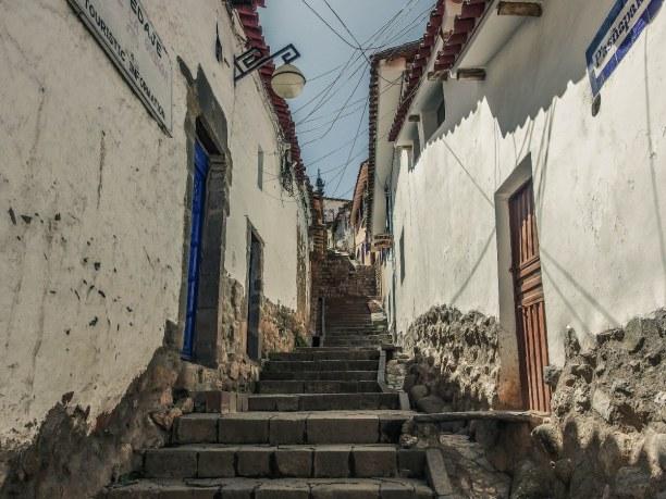 10 Tage Cusco (Stadt), Peru, Peru, San Blas ist die Altstadt von Cusco. In den steilen Gassen findest du