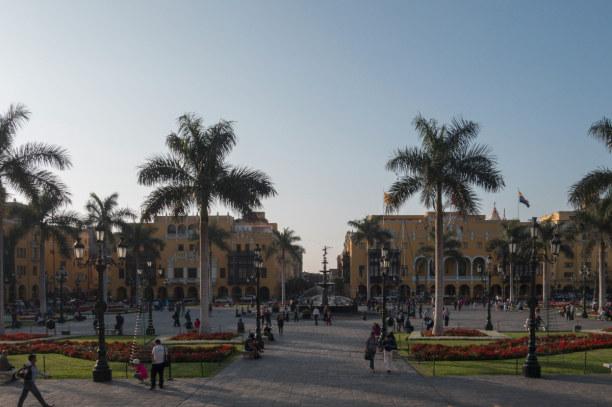 Langzeiturlaub Peru, Peru, Besonders sehenswert ist in Lima natürlich der Plaza Mayor im Zentrum