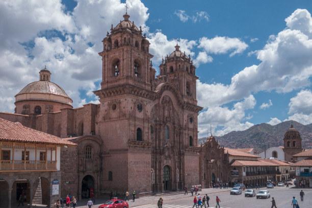 Langzeiturlaub Peru, Peru, Der Plaza Mayor in Cusco