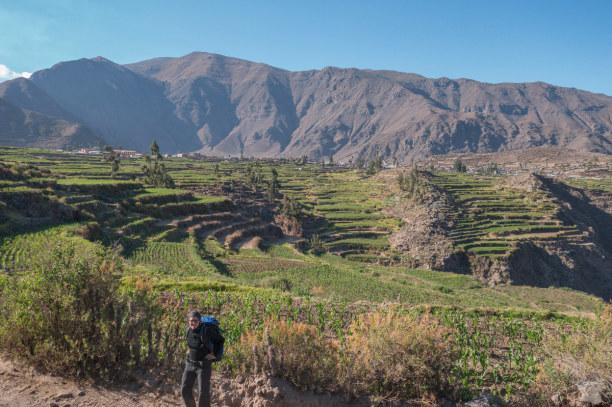 Langzeiturlaub Peru, Peru, 1000 Höhenmeter noch vor dem Frühstück, das machen wir an unserem l