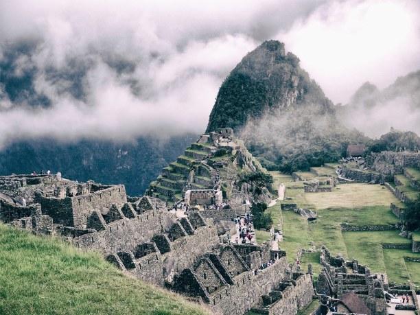 2 Wochen Peru, Peru, Der Blick auf Machu Picchu im Morgengrauen