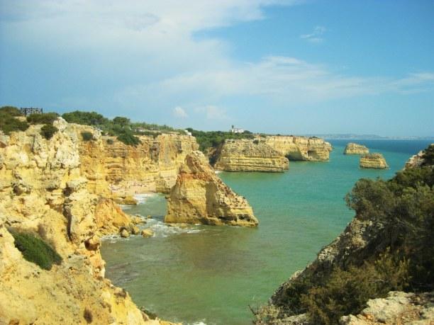 Kurztrip Algarve, Portugal, Die Hafenstadt Portimao befindet sich in der Nähe des Praia de Rocha,