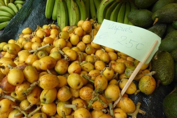 Eine Woche Madeira, Portugal, Exotische Früchte am Mercados dos Lavradores