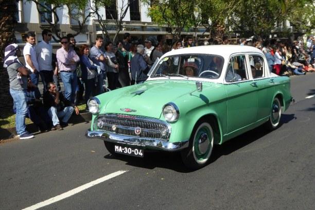 Eine Woche Madeira, Portugal, Nein, nicht Kuba! Wir sind in Funchal bei der Autoparade