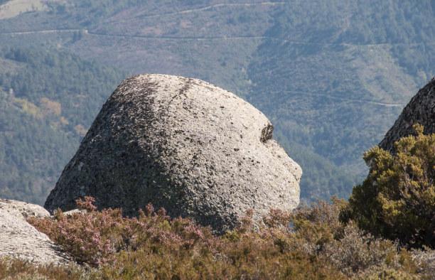 10 Tage Mittelportugal, Portugal, Ein Gesicht in der Landschaft. ;-)