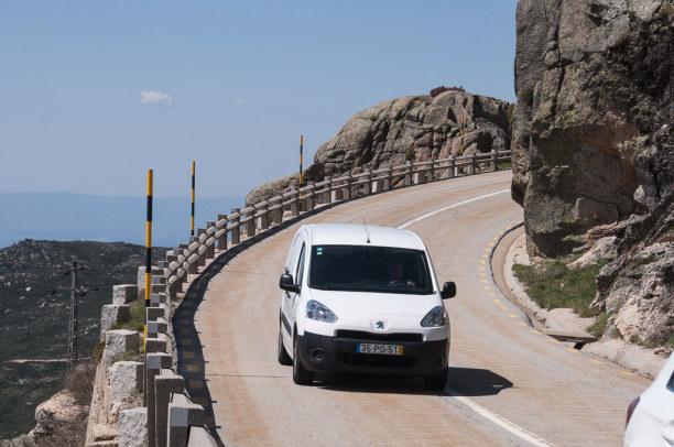 """10 Tage Mittelportugal, Portugal, Portugal hat auch seine """"schroffen"""" Seiten, hier in der Serra da Estre"""