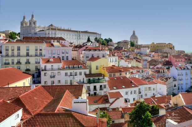 Kurztrip Region Lissabon und Setúbal, Portugal, Alfama ist ein Stadtteil von Lissabon. Hier kannst du zum Beispiel das