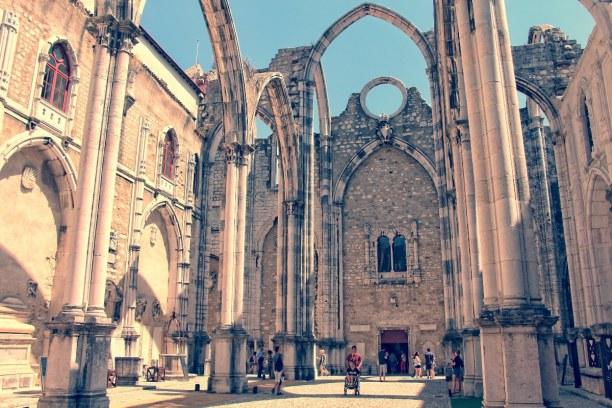 Kurzurlaub Region Lissabon und Setúbal, Portugal, Das Convento do Carmo ist ein ehemaliges Kloster, welches im großen E