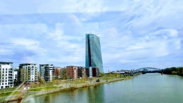 Kurztrip Frankfurt am Main (Stadt), Rhein-Main Region, Deutschland, Die neue EZB