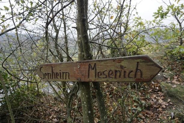 Kurztrip Mesenich (Stadt), Rheinland-Pfalz, Deutschland, Auf der Wanderung nach Beilstein