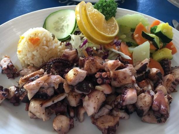 Langzeiturlaub Cozumel (Stadt), Riviera Maya & Insel Cozumel, Mexiko, Ceviche mit Oktopus zählt zu meinen Leibspeisen