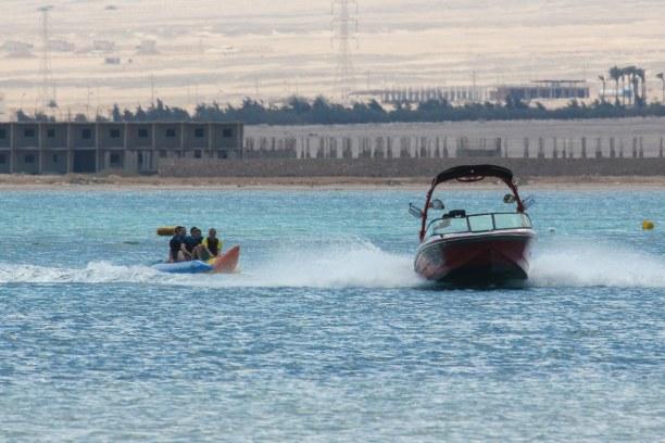 Eine Woche Soma Bay (Stadt), Rotes Meer, Ägypten, Wenn es mal keinen Wind hat, gibt es am Kitehouse trotzdem genug zu tu