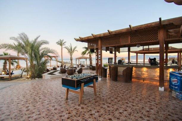 1 Woche Soma Bay (Stadt), Rotes Meer, Ägypten, Den Abend haben wir dann an der Bar ausklingen lassen. Die Temperature