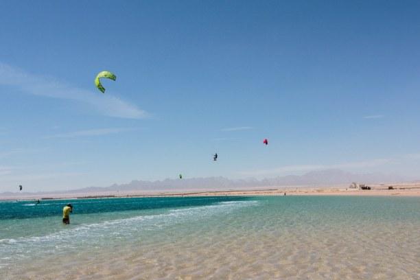 Eine Woche Soma Bay (Stadt), Rotes Meer, Ägypten, Soma Bay ist für seine Flachwasser Lagune bekannt. Das Meer ist wirkl