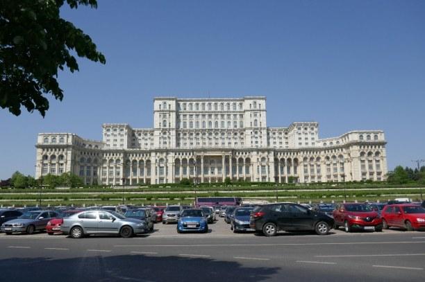 Kurzurlaub Bukarest & Umgebung, Rumänien, Der Präsidentenpalast von Bukarest - Gigantomanie hoch drei