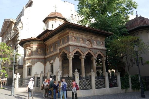 Kurztrip Bukarest & Umgebung, Rumänien, Die Stavropoleus Kirche