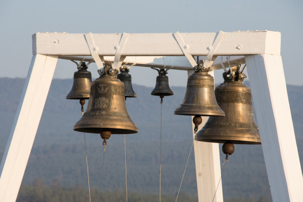 Langzeiturlaub Sibirien, Russische Föderation, Besonders beeindruckt mich das Glockenspiel mehrmals am Tag.