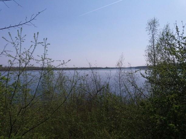 Kurztrip Leipzig (Stadt), Sachsen, Deutschland, Blick auf den Kulkwitzer See