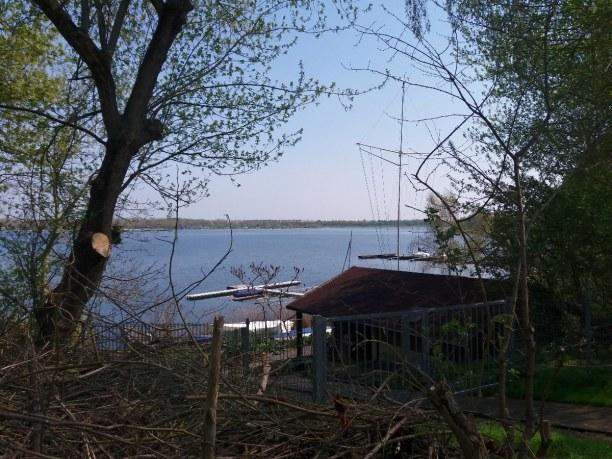 Kurzurlaub Leipzig (Stadt), Sachsen, Deutschland, Blick auf den Kulkwitzer See