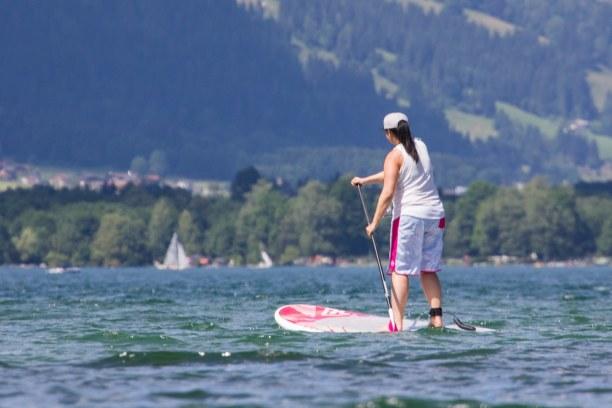 Kurzurlaub Hinterglemm (Stadt), Salzburger Land, Österreich, Die Abkühlung haben wir uns verdient! Nach dem Wandern sind wir noch