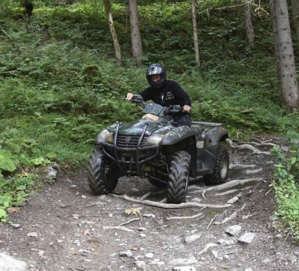 Kurztrip Hinterglemm (Stadt), Salzburger Land, Österreich, Eine Offroad-Tour mit dem Quad macht riesig Spaß!