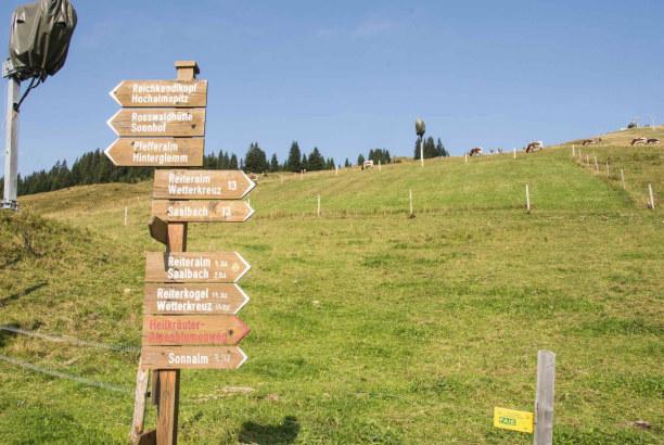 Kurztrip Hinterglemm (Stadt), Salzburger Land, Österreich, Am Reiterkogel gibt es einige Möglichkeiten für gemütliche Mountain